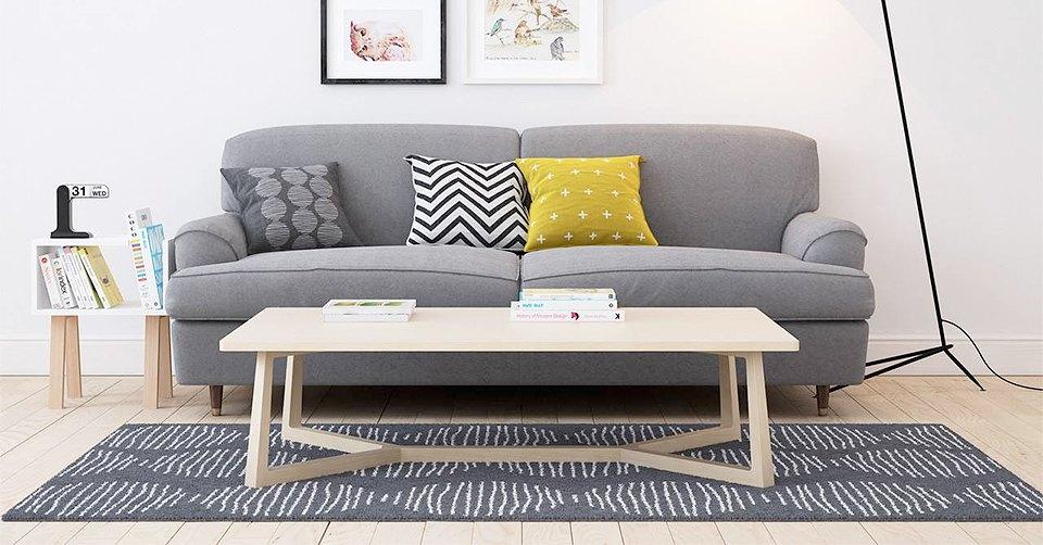 Мебель и предметы интерьера в цветах: черный, серый, светло-серый, салатовый. Мебель и предметы интерьера в стилях: скандинавский стиль, экологический стиль.