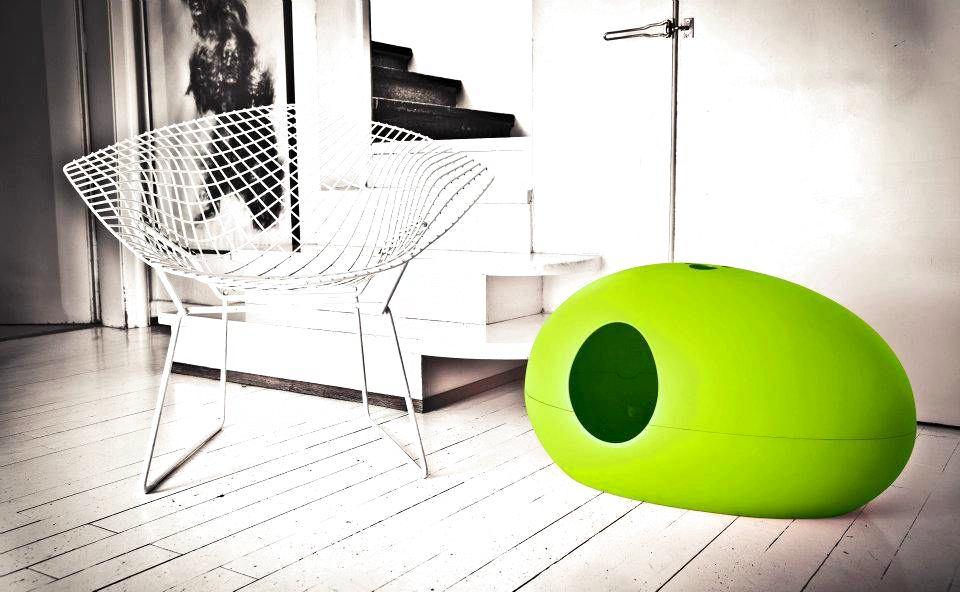 Мебель и предметы интерьера в цветах: серый, светло-серый, белый, салатовый. Мебель и предметы интерьера в стиле эклектика.