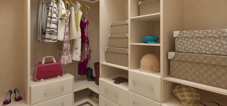 Где сделать гардеробную: 4 идеи