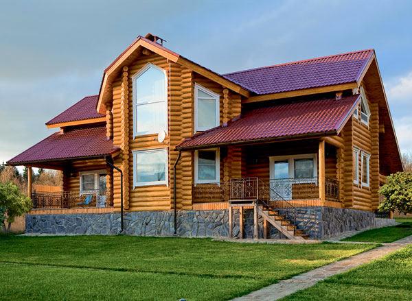 Архитектура в цветах: серый, бордовый, коричневый. Архитектура в .
