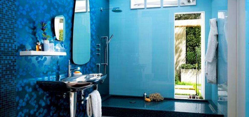20 необыкновенных ванных комнат в голубых тонах