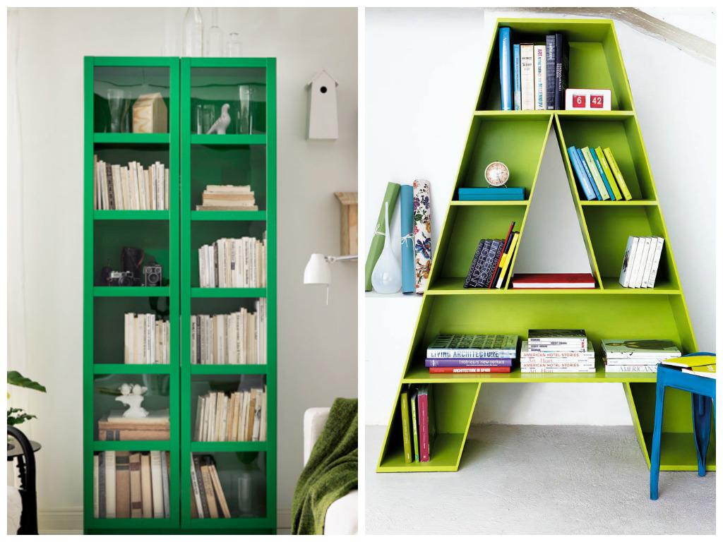 Мебель и предметы интерьера в цветах: светло-серый, темно-зеленый. Мебель и предметы интерьера в .