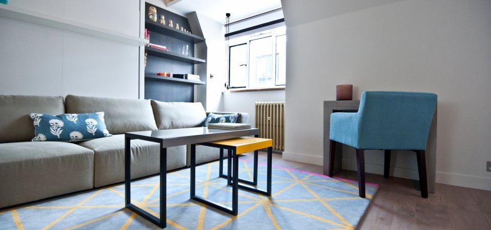 Как сделать 25-метровую квартиру-студию просторной и светлой: пример из жизни