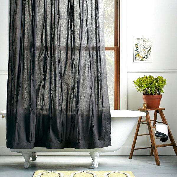 Туалет в цветах: черный, серый, светло-серый. Туалет в стиле американский стиль.