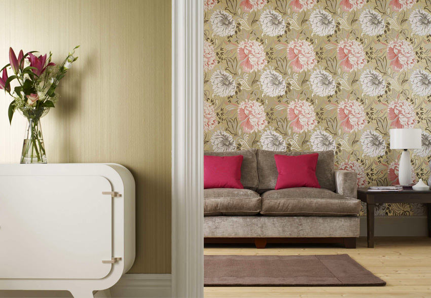 Гостиная, холл в цветах: серый, светло-серый, бежевый. Гостиная, холл в стилях: классика.