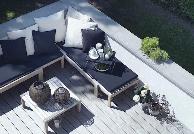 Балкон, веранда, патио в цветах: фиолетовый, серый, светло-серый, белый. Балкон, веранда, патио в стилях: скандинавский стиль.