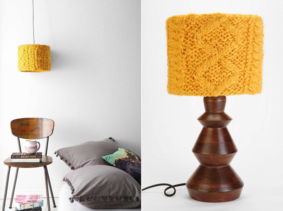 Светильники в цветах: желтый, серый, светло-серый, темно-коричневый. Светильники в стиле эклектика.