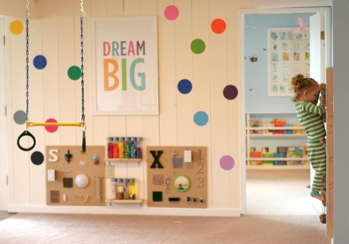 Как вместе с ребёнком декорировать игровую: 5 вариантов для деятельности