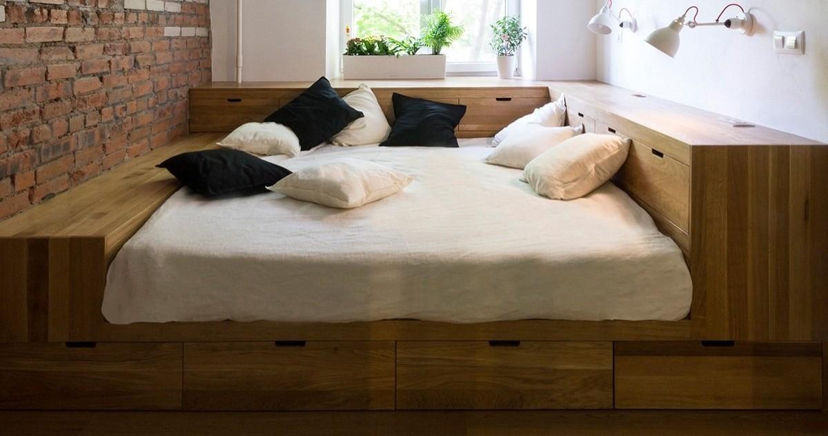Как организовать дополнительное хранение в спальне: 10 советов и 20 идей