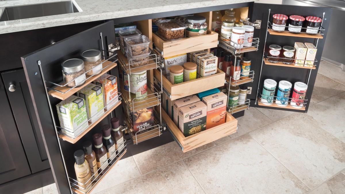 10 мест дополнительного хранения на кухне, о которых вы не знали