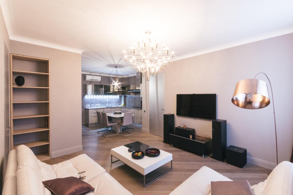 Квартира на 22 этаже: комфортный минимализм на века