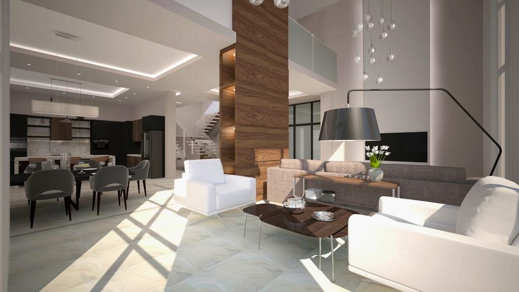 400 квадратов уютного минимализма: дом для семьи из четырёх человек
