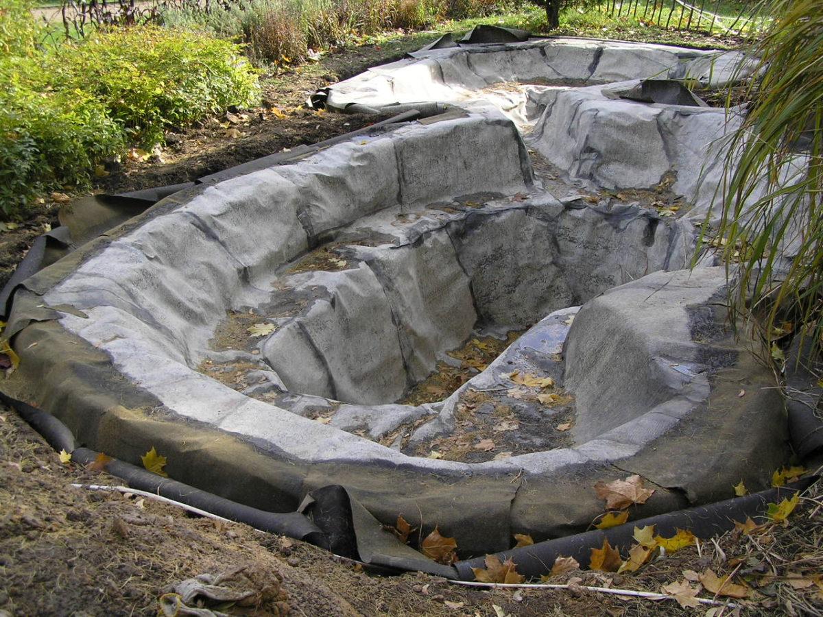 выкопать пруд на даче своими руками