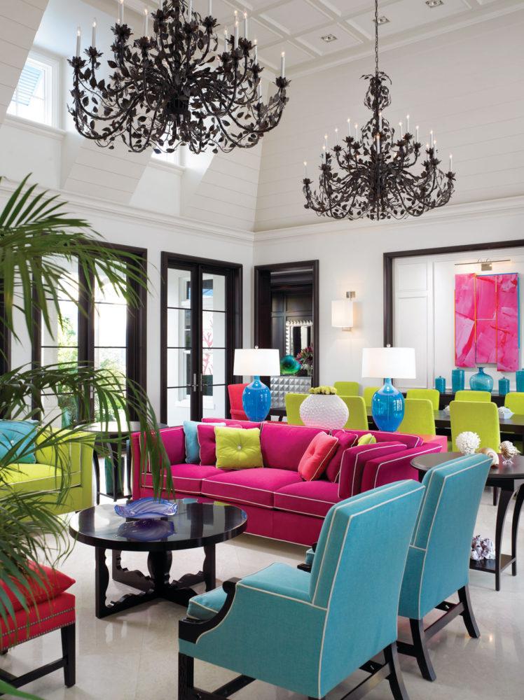 Гостиная в  цветах:   Бежевый, Бирюзовый, Светло-серый, Серый, Черный.  Гостиная в  стиле:   Эклектика.
