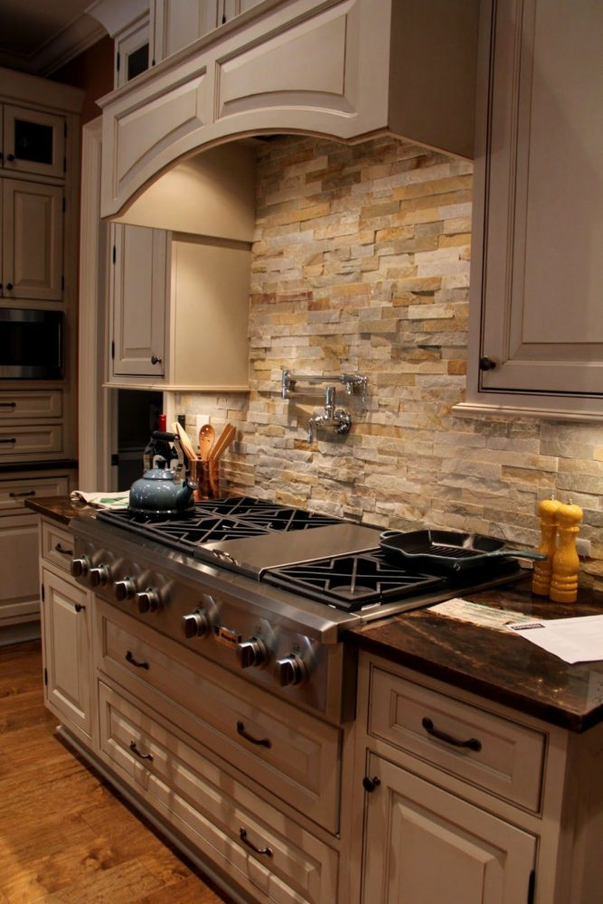 Granite Countertops Lowes Canada : Stone Backsplash Lowes Home Improvement Stone Backsplash