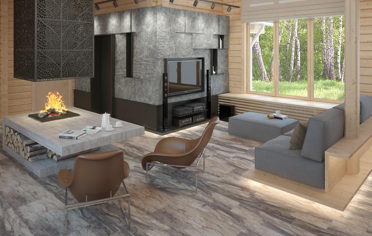 Перепланировка деревянного дома: пример из Подмосковья
