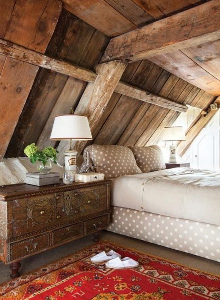 Спальня в  цветах:   Бежевый, Бордовый, Коричневый, Светло-серый, Темно-коричневый.  Спальня в  стиле:   Кантри.