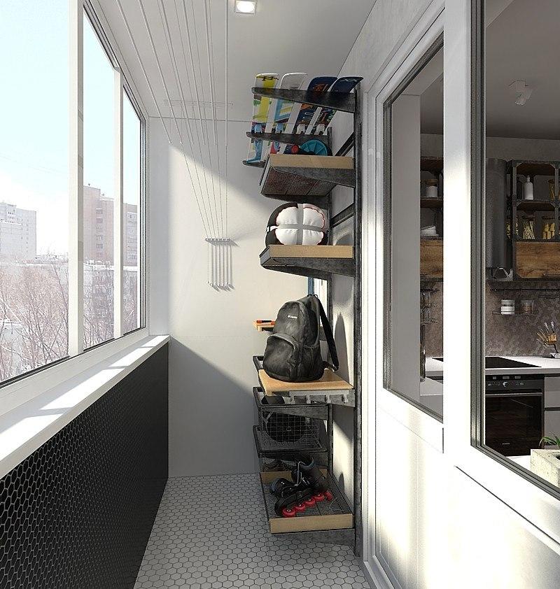 Ремонт за 4 месяца: квартира холостяка площадью 56 метров в .