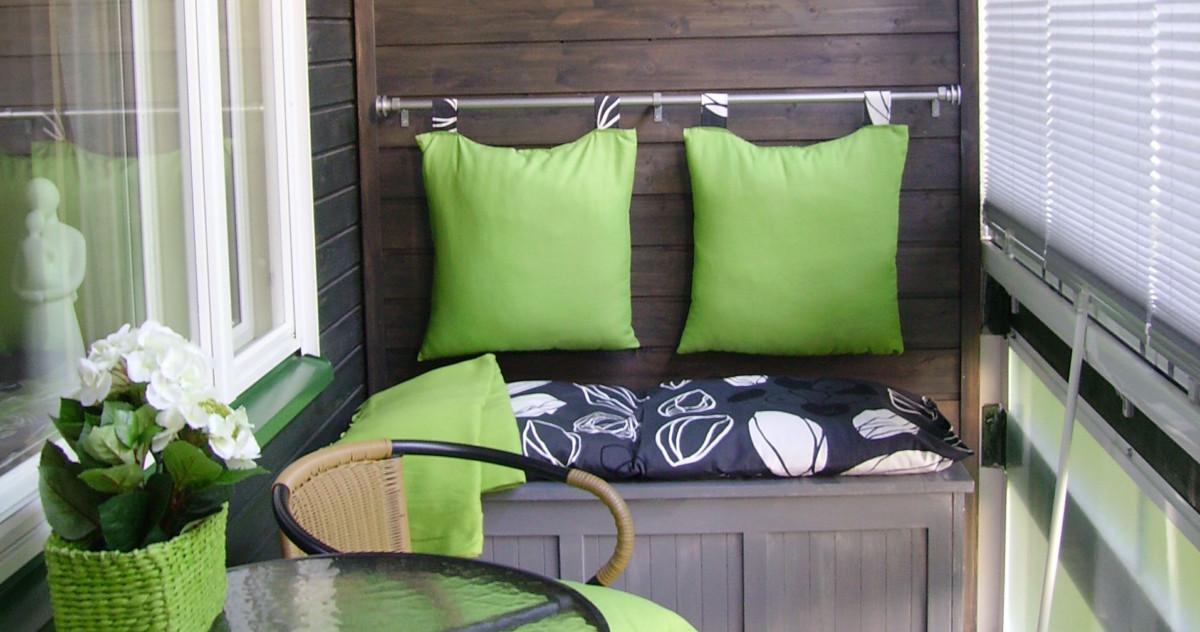 12 идей, как превратить маленький балкон в уголок для отдыха