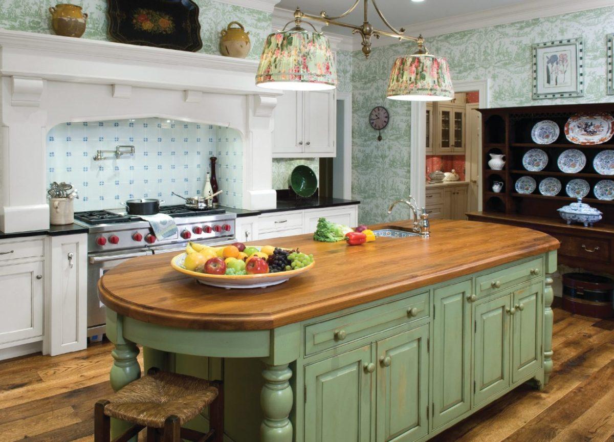Кухня/столовая в  цветах:   Бежевый, Коричневый, Светло-серый, Серый, Черный.  Кухня/столовая в  стиле:   Прованс.