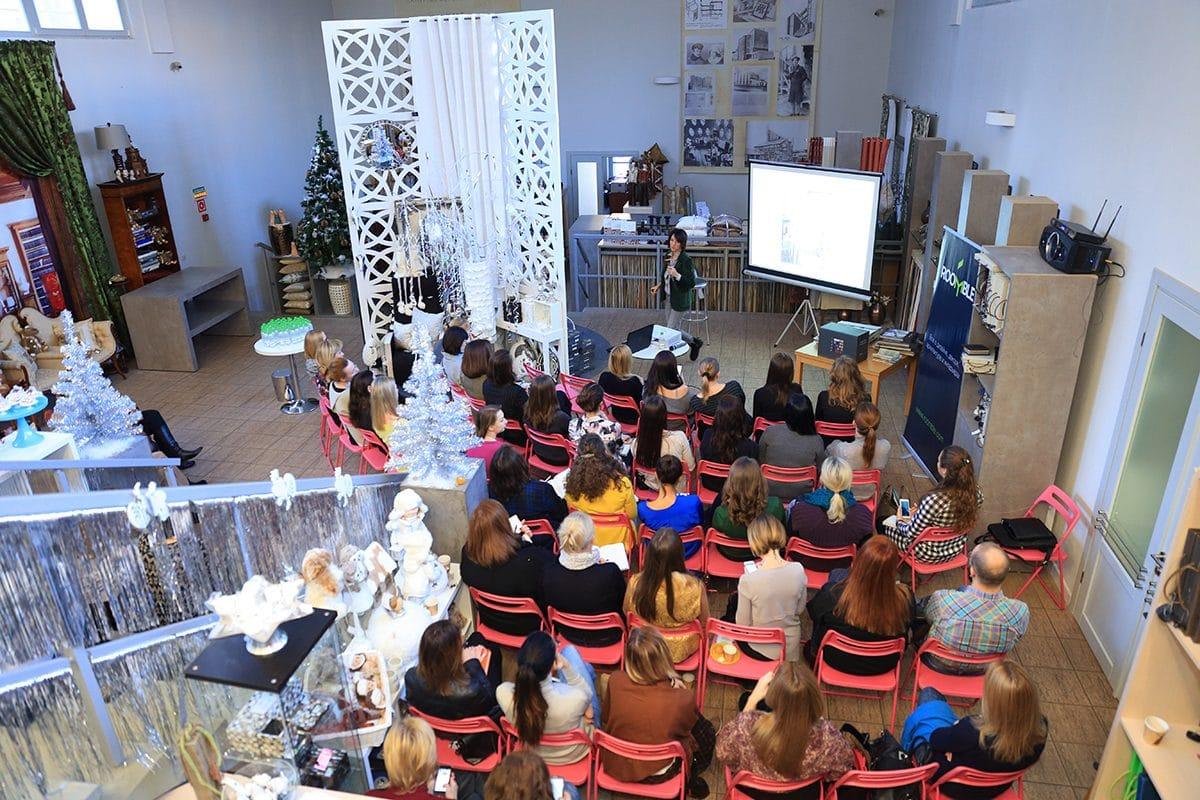 23 ноября в шоу-руме Galleria Arben состоялся семинар по фотосъёмке интерьера