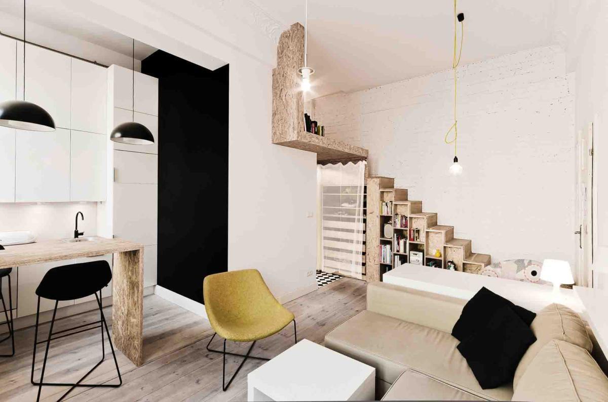 Дизайн маленькой квартиры: 5 грамотно организованных интерьеров