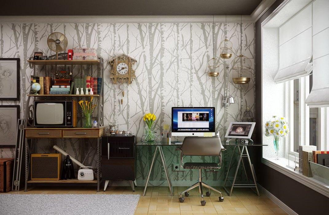 Идеальный домашний кабинет: 107 идей