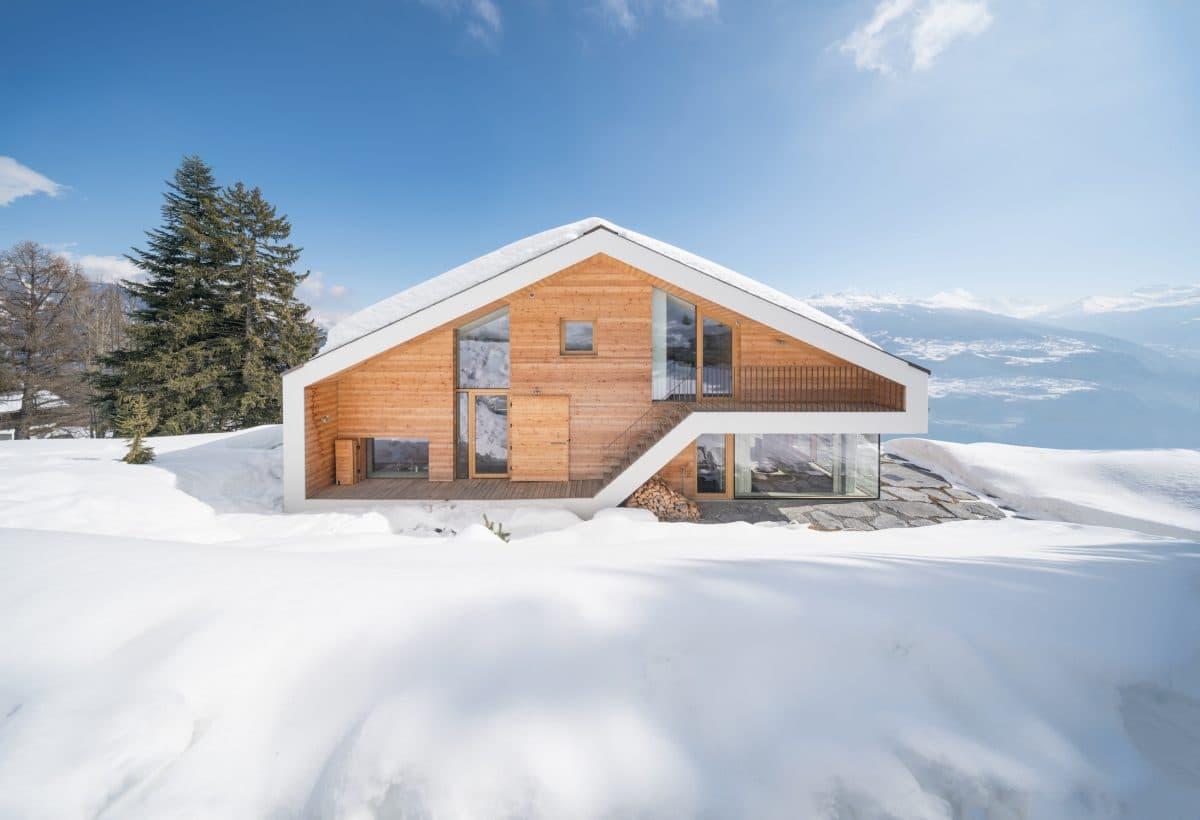 Современное шале в Швейцарии: дом, в котором вам захочется жить
