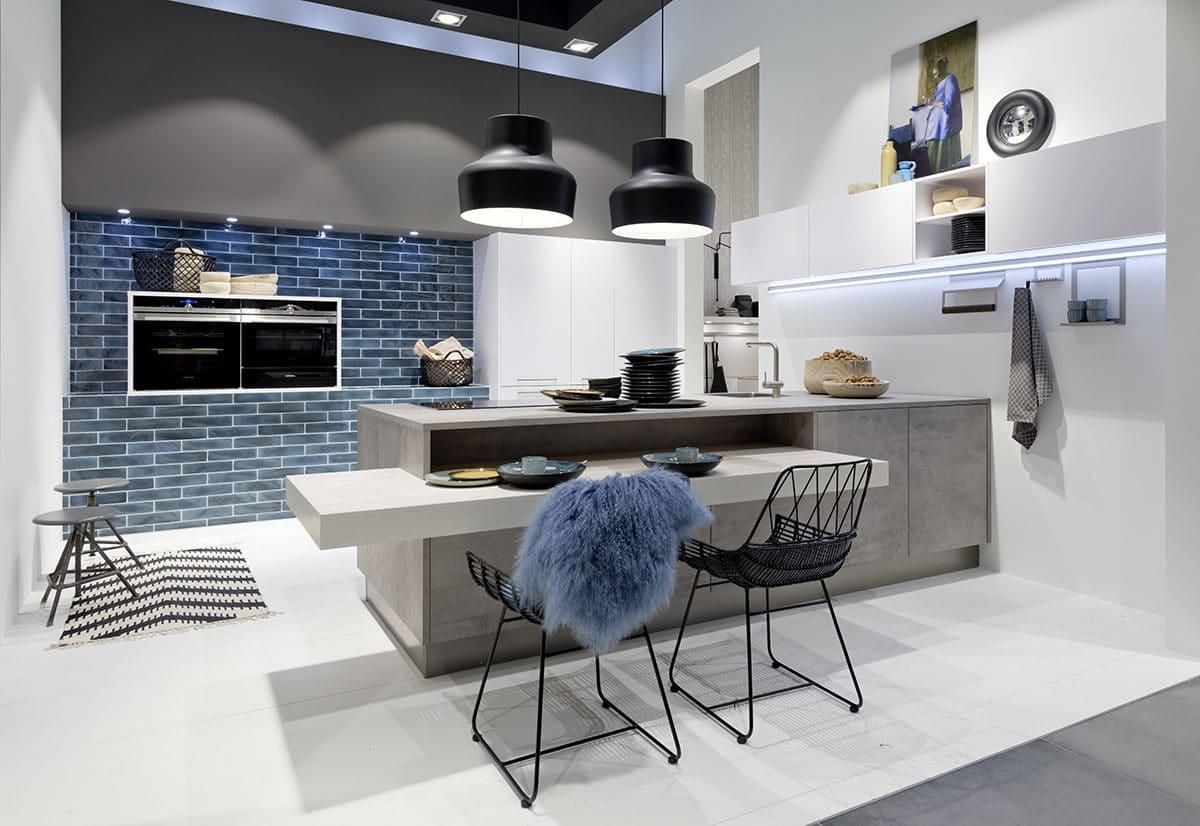 Компания Nolte на выставке в Кёльне представила новые модели кухонь