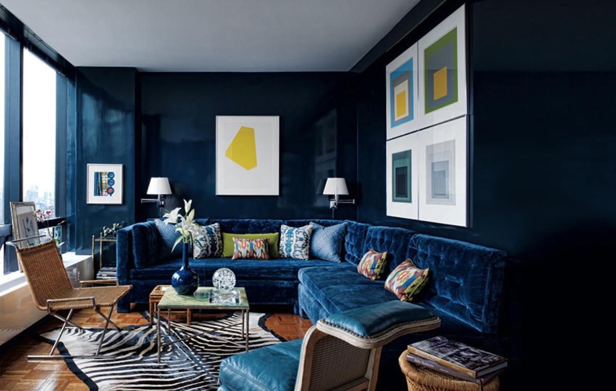 Модный цвет в интерьере: Lapis Blue, или «Синий ляпис»