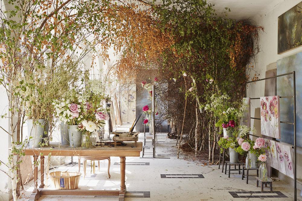 Самые красивые цветы в мире на картинах Клер Баслер
