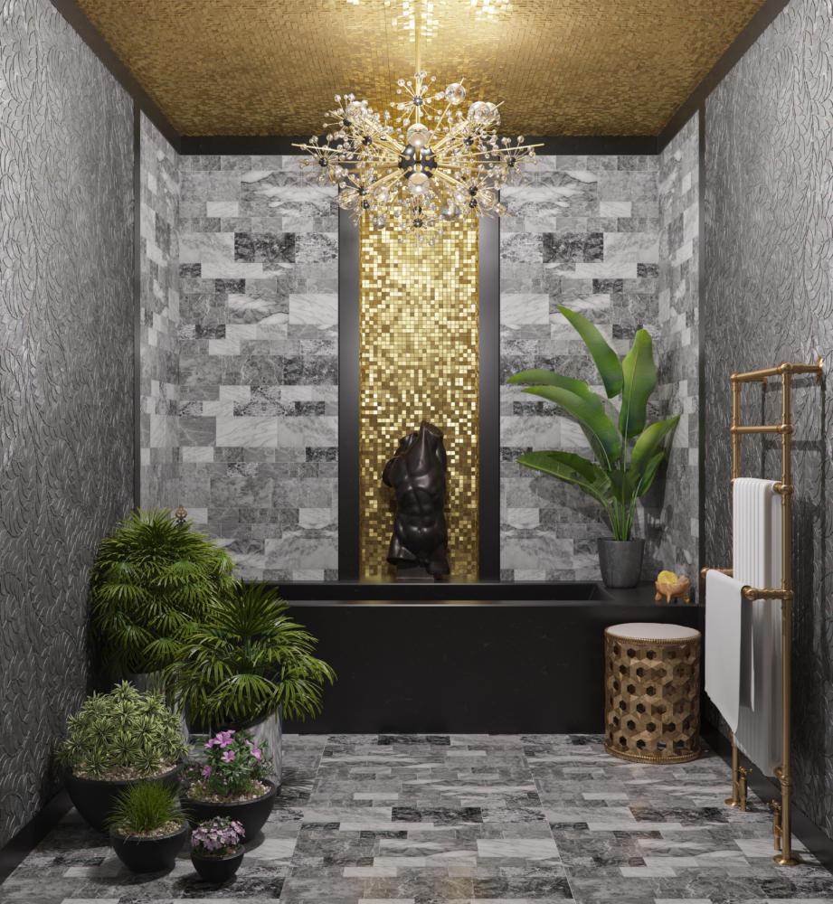 17 ванных комнат из инстаграмов российских дизайнеров