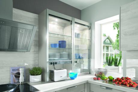 Кухня/столовая в  цветах:   Голубой, Розовый, Сиреневый.  Кухня/столовая в  стиле:   Минимализм.