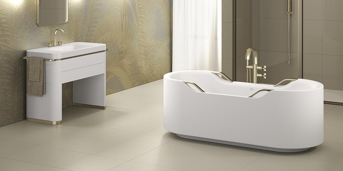 Джорджио Армани создал эксклюзивный дизайн ванной комнаты
