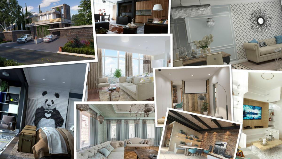 10 лучших домов и интерьеров апреля 2017
