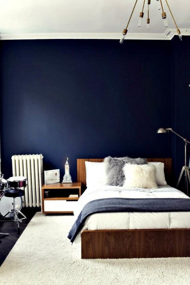 Спальня в  цветах:   Коричневый, Салатовый, Серый, Фиолетовый.  Спальня в  стиле:   Минимализм.