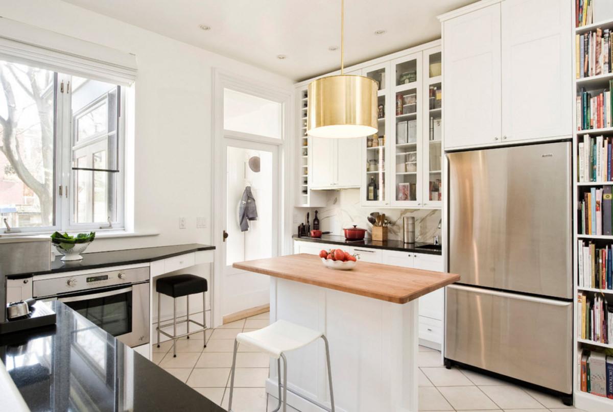 увидела дизайн проходной кухни в частном доме фото этой