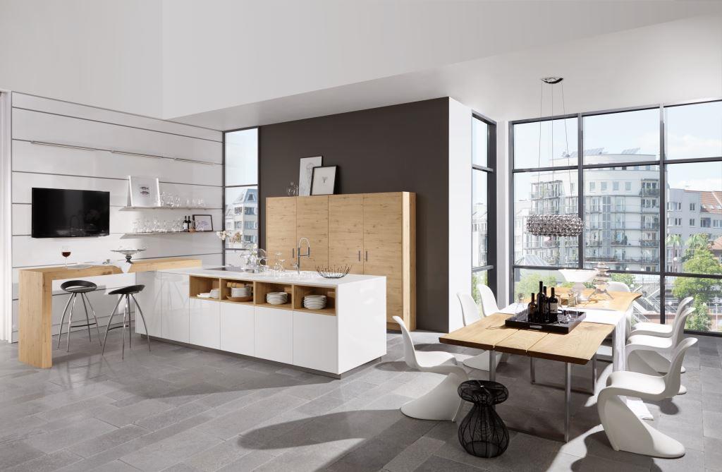 Из чего должны быть сделаны фасады кухни: дерево, стекло, бетон и другие