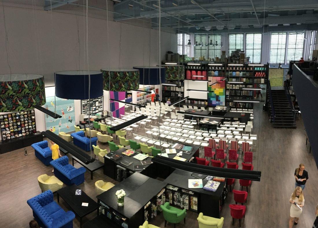 3 000 каталогов тканей и обоев можно найти в новом центре дизайна в Москве
