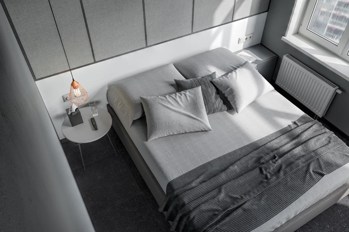 Правильное изголовье кровати для маленькой спальни