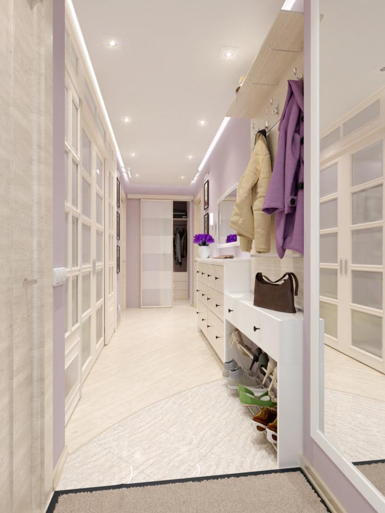 дизайн коридора с гардеробной в квартире фото его картинах