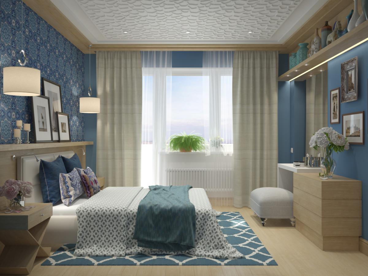 В квартире должна быть большая гардеробная и полноценное рабочее место для мужа.