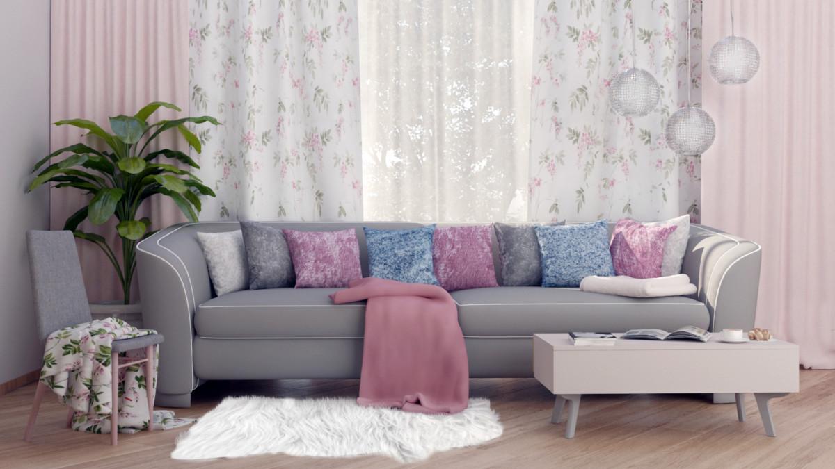«Леруа Мерлен» разыгрывает во «ВКонтакте» оформление спальни или гостиной от дизайнера