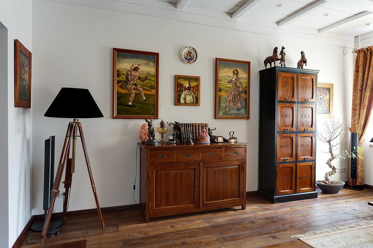 Современный аристократизм: дизайн двухкомнатной квартиры в стиле гранж