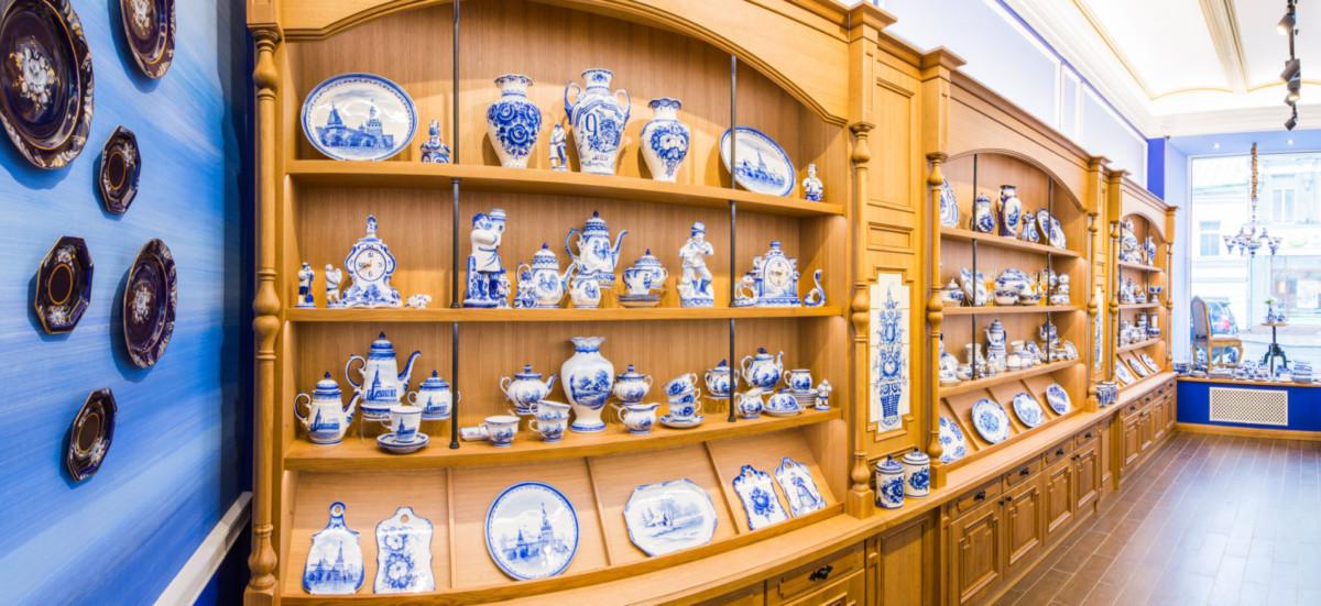 В Москве прошла выставка работ гжельских художников и ремесленников