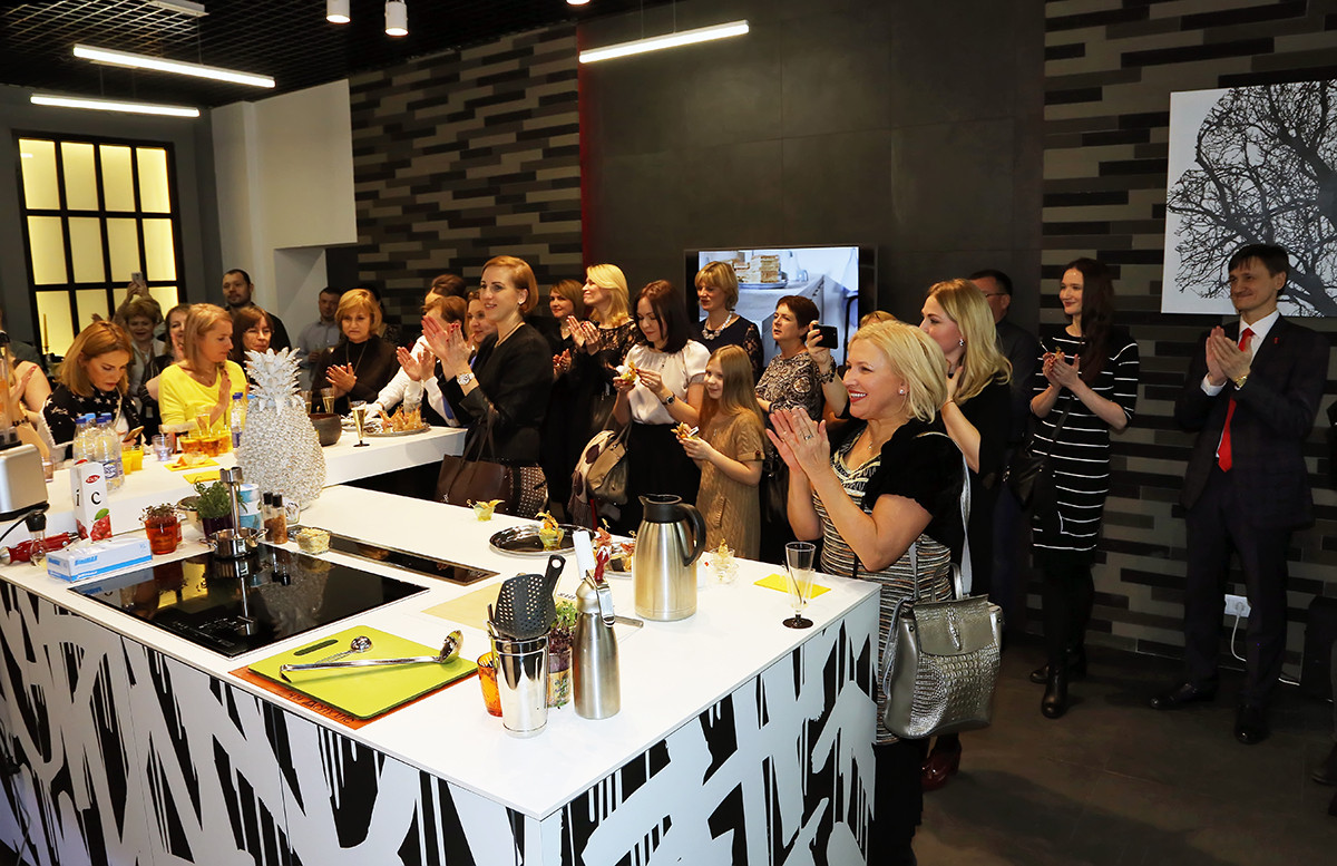 В декабре в Москве открылся новый салон кухонь Nolte