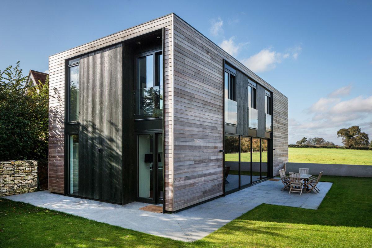 Архитектура в  цветах:   Серый, Черный.  Архитектура в  стилях:   Лофт, Минимализм.