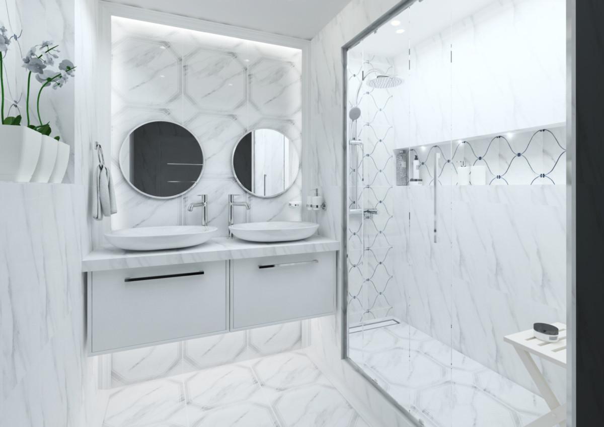 12 стильных ванных комнат на любой вкус