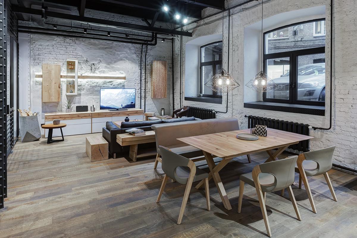 В центре дизайна Artplay открылась шоу-рум мебели Fortross