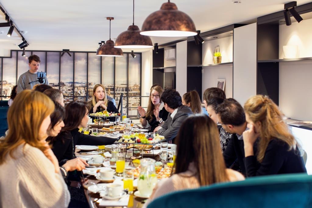 27 марта прошёл очередной архитектурный завтрак компании Rehau